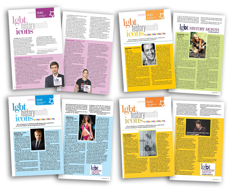 LGBT History Month Hotspots Magazine